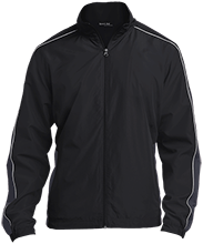 Unity Thunder Football Embroidered Colorblock Windbreaker