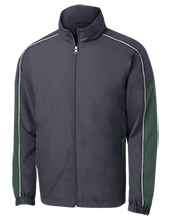 Aquinas High School Fighting Irish Embroidered Colorblock Windbreaker