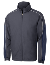 Wells Middle School Roadrunners Embroidered Colorblock Windbreaker