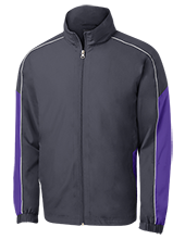 Douglas County High School Huskies Embroidered Colorblock Windbreaker