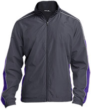 isempty Triway Titans Triway Titans Embroidered Colorblock Windbreaker