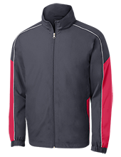 South Salem High School Saxons Embroidered Colorblock Windbreaker