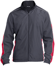 Matoaca Middle School Warriors Embroidered Colorblock Windbreaker