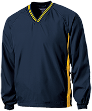 Stephenville High School Yellowjackets Tipped VNeck Wind Shirt