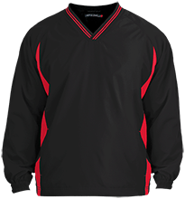 Bellefontaine Middle School Chieftain Tipped VNeck Wind Shirt