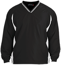 Manchester East Soccer Tipped VNeck Wind Shirt