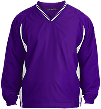 Football Tipped VNeck Wind Shirt