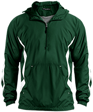 Janesville Parker High  School Vikings Unisex Colorblock Raglan Anorak