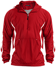 Bellefontaine Middle School Chieftain Unisex Colorblock Raglan Anorak