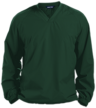 Mayfield High School Wildcats Pullover V-Neck Windshirt