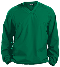Saint Patrick School Shamrocks Pullover V-Neck Windshirt