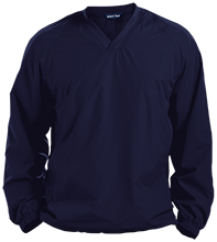 Copperwood Elementary School Chargers Pullover V-Neck Windshirt