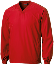 North Attleboro Middle School School Pullover V-Neck Windshirt