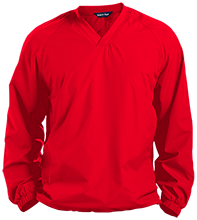 Bellefontaine Middle School Chieftain Pullover V-Neck Windshirt
