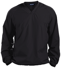 Accounting Pullover V-Neck Windshirt