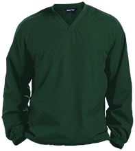 Janesville Parker High  School Vikings Pullover V-Neck Windshirt