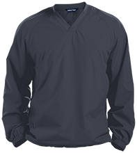 New Holland - Middletown School Mustangs Pullover V-Neck Windshirt