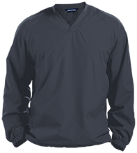 Hesser College School Pullover V-Neck Windshirt