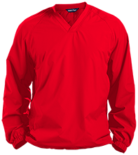 Bermudian Springs Middle Eagles Pullover V-Neck Windshirt