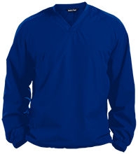 Shoals High School Jug Rox Pullover V-Neck Windshirt