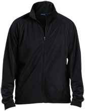 Hesser College School Men's Raglan Sleeve Warmup Jacket
