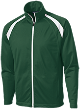 Lititz Area Mennonite School School Men's Raglan Sleeve Warmup Jacket