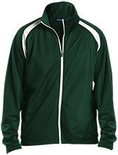 Vincennes Lincoln High School Alices Men's Raglan Sleeve Warmup Jacket
