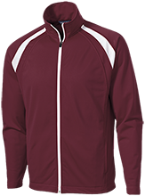 Horizon High School Hawks Men's Raglan Sleeve Warmup Jacket
