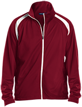 Chestnut Ridge Christian Academy Flames Men's Raglan Sleeve Warmup Jacket