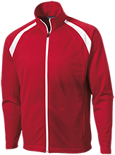 Masconomet Regional High School Chieftains Men's Raglan Sleeve Warmup Jacket