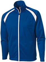 Laurel Primary School Squirrels Men's Raglan Sleeve Warmup Jacket