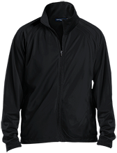Aids Research Men's Raglan Sleeve Warmup Jacket