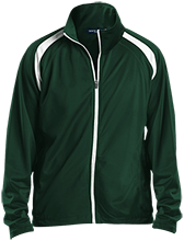Janesville Parker High  School Vikings Men's Raglan Sleeve Warmup Jacket