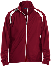 Shepherd Of The Valley Lutheran Men's Raglan Sleeve Warmup Jacket