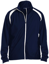 Lansing Eastern High School Quakers Men's Raglan Sleeve Warmup Jacket