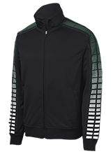 Mayfield High School Wildcats Dot Print Warm Up Jacket