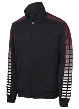 Pahrump Valley High School Trojans Dot Print Warm Up Jacket
