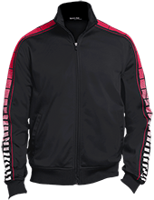Bond-Wesson Elementary School Panthers Dot Print Warm Up Jacket