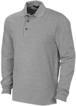 Jackson Elementary School School Long Sleeve Pique Knit Polo