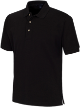 Pickens High School Blue Flame Cotton Pique Knit Polo
