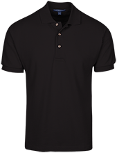 Fire Department Cotton Pique Knit Polo