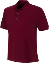 Saint Thomas More School Lions And Lambs Cotton Pique Knit Polo