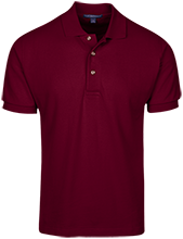 Las Lomas High School Knights Cotton Pique Knit Polo
