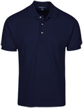 Aquinas High School Blugolds Tall Cotton Pique Knit Polo