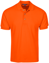 Chiddix Junior High School Chargers Cotton Pique Knit Polo