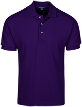 Mart Middle School Panthers Cotton Pique Knit Polo
