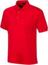 McCutchenville Elementary School Indians Cotton Pique Knit Polo