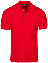 The Heritage High School Hawks Cotton Pique Knit Polo