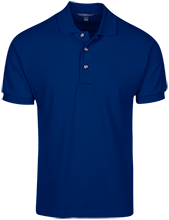 Porterville Learning Complex School Cotton Pique Knit Polo