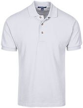 William H Hunter Elementary School Hawks Cotton Pique Knit Polo